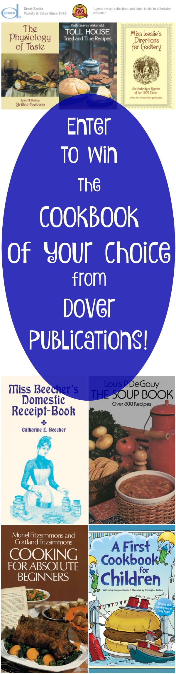 Read about client Dover Publications and enter to win the Dover cook book title of your choice through October 26, 2016! | pastrychefonline.com