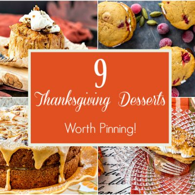 9 Thanksgiving Dessert Recipes Worth Pinning