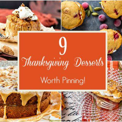 9 Thanksgiving Dessert Recipes Worth Pinning