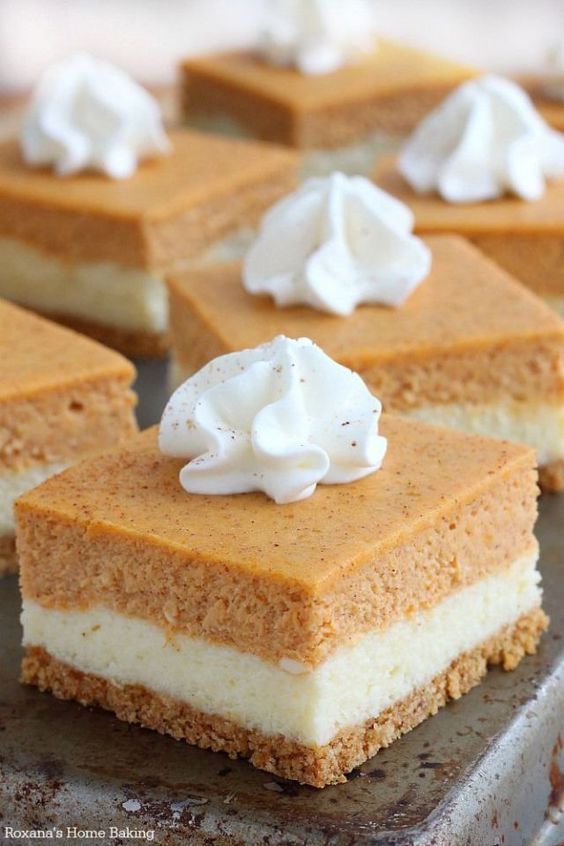 Delicious Thanksgiving Dessert Recipes: 24 Fall Cheesecakes compiled by Nettie from Moore or Less Cooking