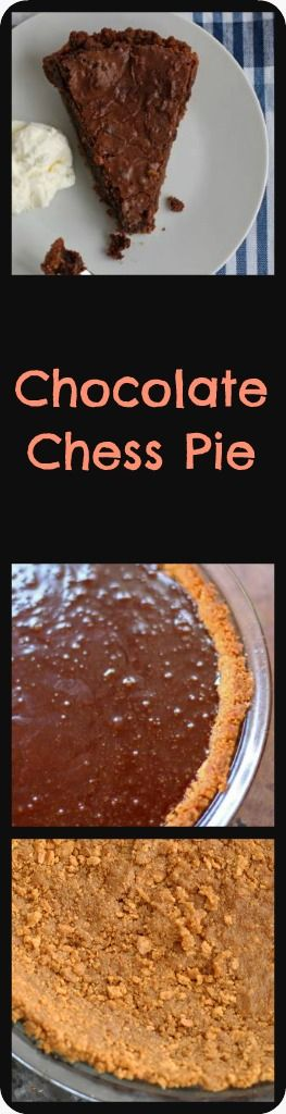 Delicious Thanksgiving Dessert Recipes: Chocolate Chess Pie from Mother Would Know