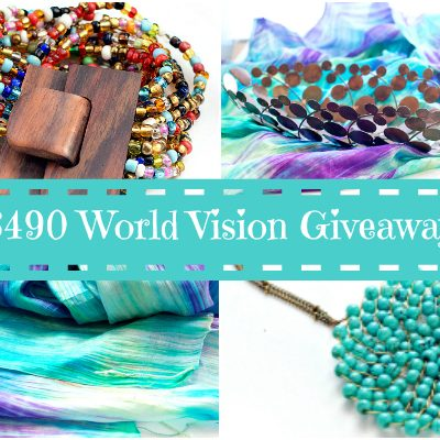 Charitable Giving: World Vision Giveaway