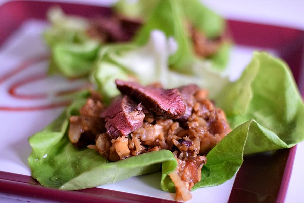 Beef Lettuce Wraps from Pantry Doctor