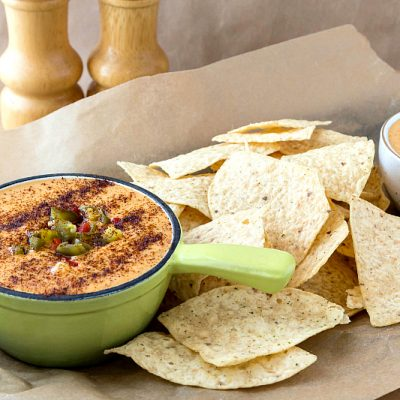 Spicy Queso Dip | 3 Cups of Cheesy Goodness