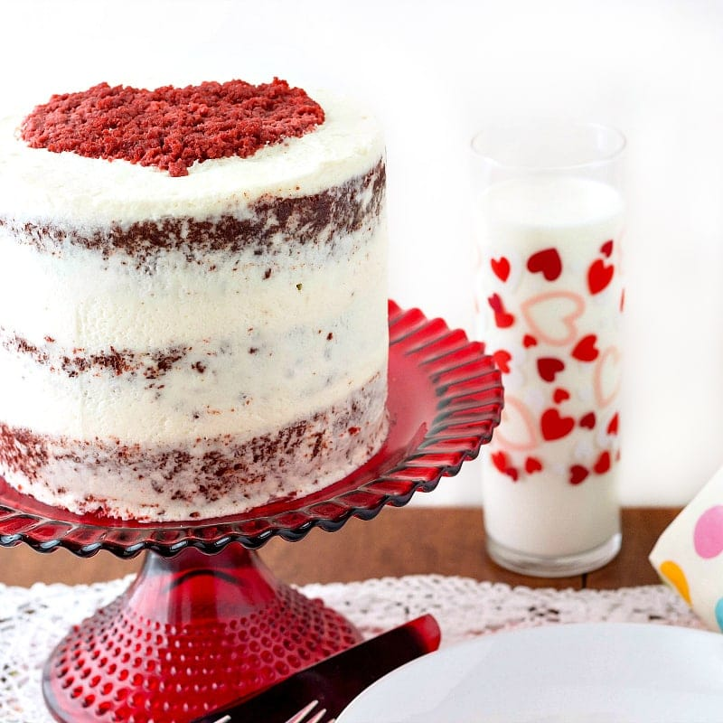 Traditional Red Velvet Cake with Ermine Frosting Old School Goodness