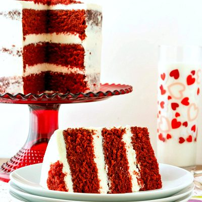Traditional Red Velvet Cake Recipe with (the Original) Ermine Frosting