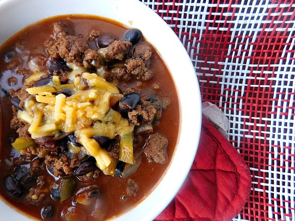 Bourbon Beef Chili from Nik Snacks