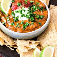 Spicy Chili Cheese Dip | The Secret to Cheese Dip That Stays Smooth