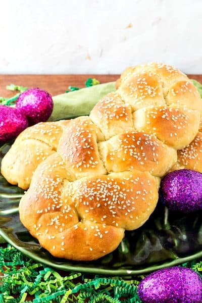 Armenian Easter Bread | How to Make Braided Choereg
