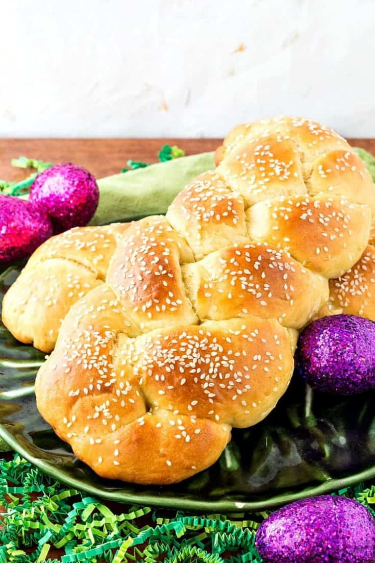 Armenian Easter Bread | How to Make Braided Choereg