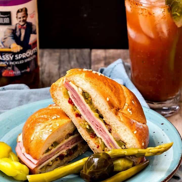 North Carolina Muffaletta with Bruce Julian Heritage Foods | #HomeGrownFare17