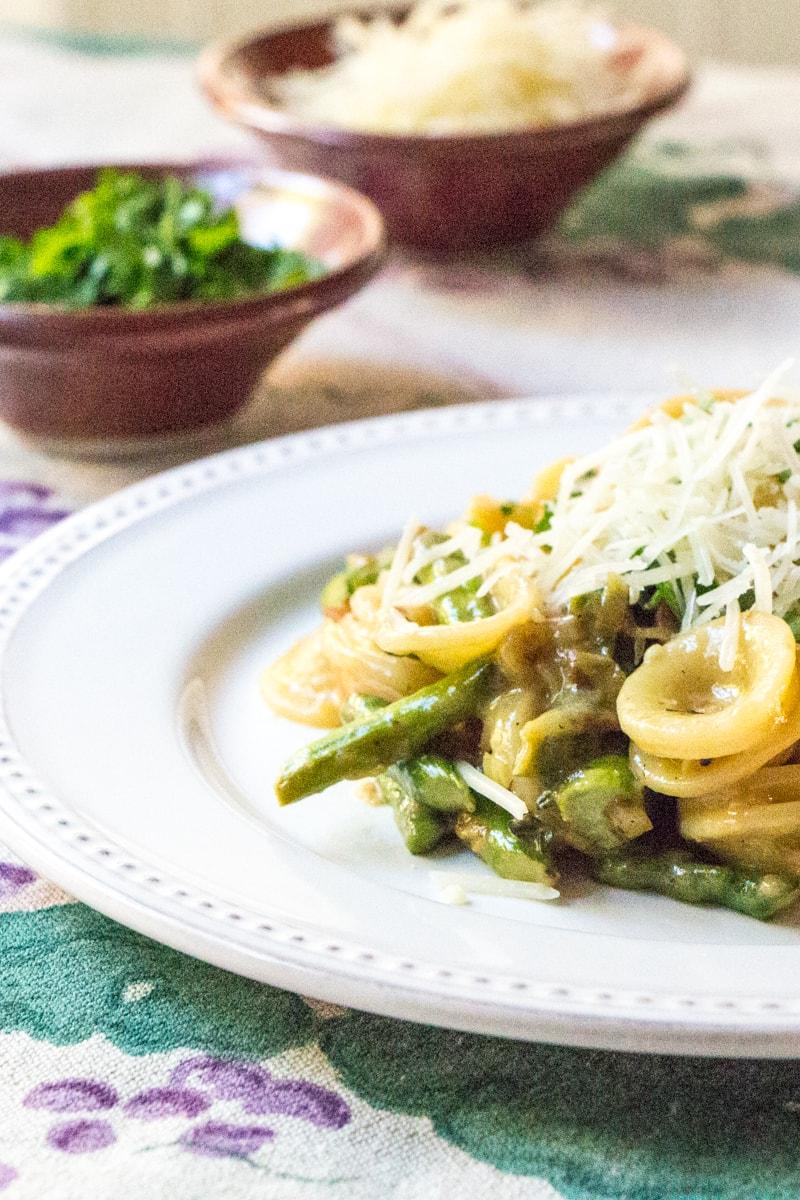 Asparagus Carbonara