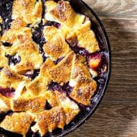 Blueberry Peach Pandowdy