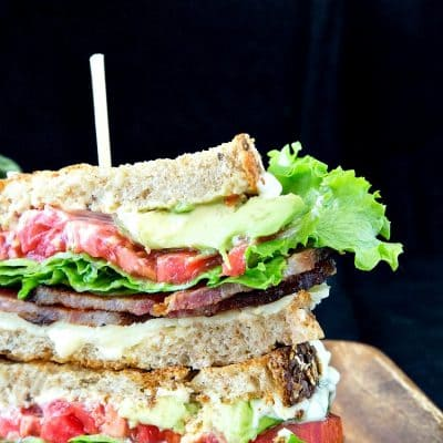 Gourmet BLT with Cheddar and Avocado | The Best BLTCA Around