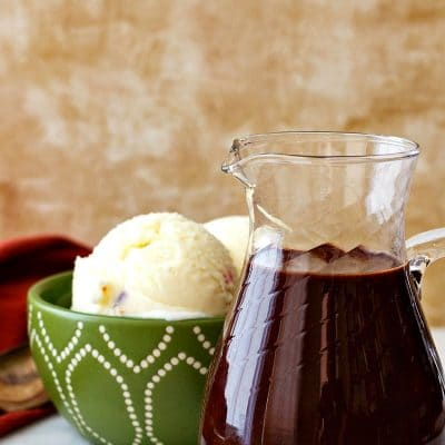 The Best Quick Hot Fudge Sauce Recipe