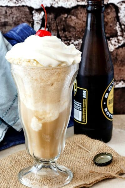 Old Fashioned Creamy Root Beer Floats and Send Offs