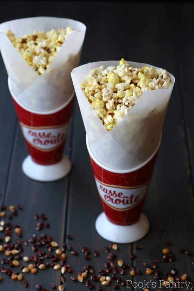 stove top island spice popcorn
