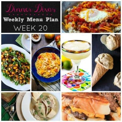Dinner Divas Weekly Meal Plan, Week 20 | 5 Mains, 2 Extras