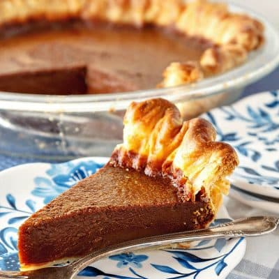 Chocolate Caramel Buttermilk Pie | A Delicious Twist on a Classic