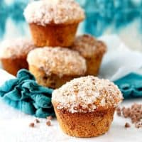 Double Cinnamon Raisin Muffins