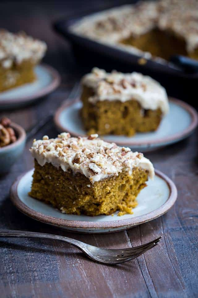 bourbon chai pumpkin snack cake