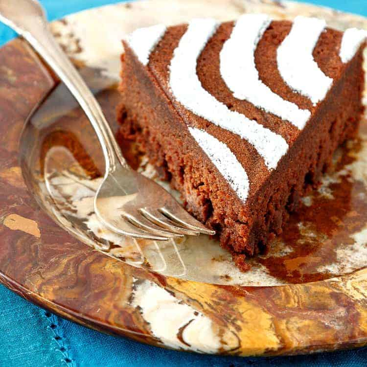 Get the recipe for this decadent yet easy-to-make chestnut chocolate torte from the Dover Publications re-release of Alice Medrich's 1990 triumph, Cocolat. Dover, who is sponsoring this post, is also offering a 25% discount code on all their cookbooks through the end of 2017, so don't miss that. And if that's not enough, you can also enter a Dover-Sponsored giveaway to win a copy of the updated Cocolat! Good luck! | pastrychefonline.com