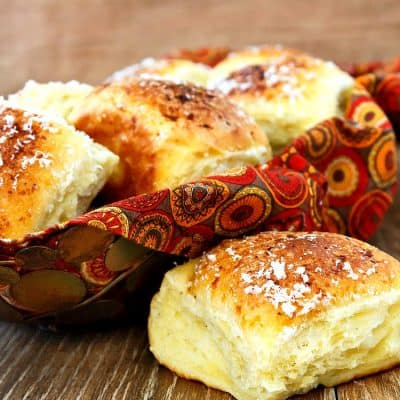The Best Rolls for Thanksgiving | Garlic Parmesan Pull Apart Rolls with Idaho® Potatoes