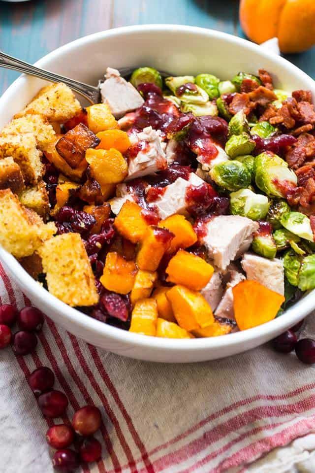 Thanksgiving Cobb Salad