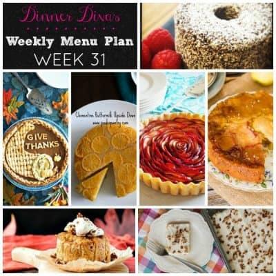 7 Thanksgiving Desserts from The Dinner Divas (Week 31)