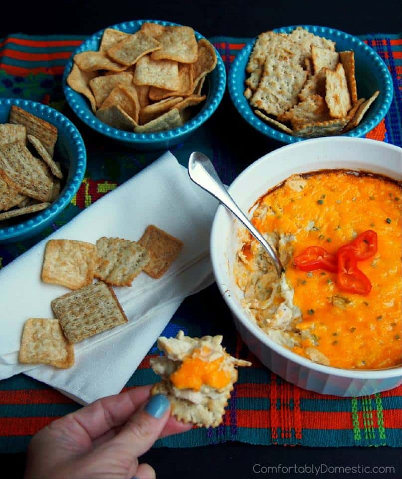 southwest cheddar chicken spread