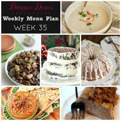 Dinner Divas Weekly Meal Plan, Week 35 | 4 Mains, 2+1 Extra!