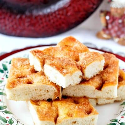 Moravian Sugar Cake with Idaho® Potatoes | The Best Coffee Cake Ever