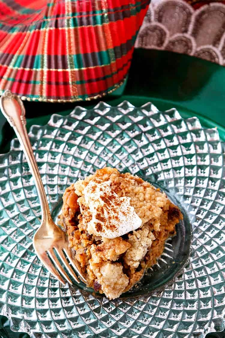 overnight fruitcake baked steel cut oats