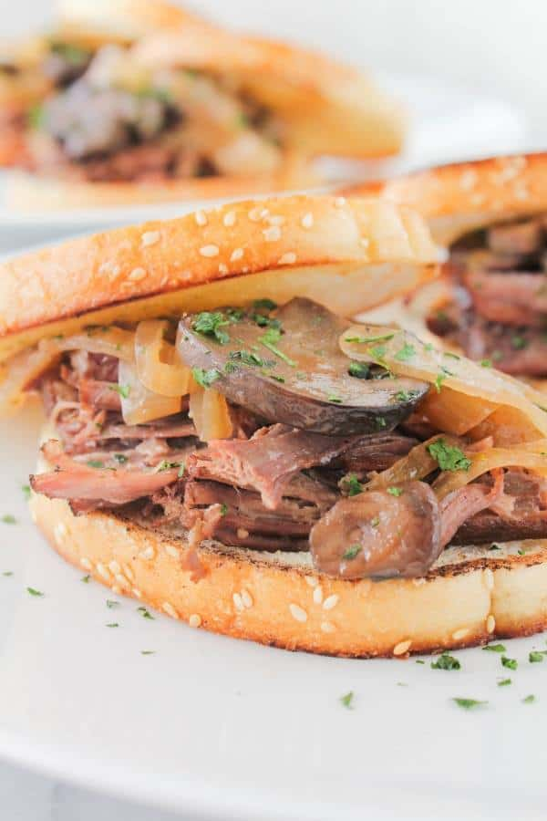 beer braised brisket sandwiches