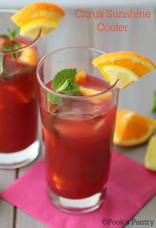 citrus sunshine coolers
