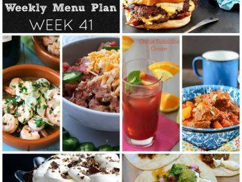 Dinner Divas Weekly Meal Plan, Week 41 | 5 Mains, 2 Extras