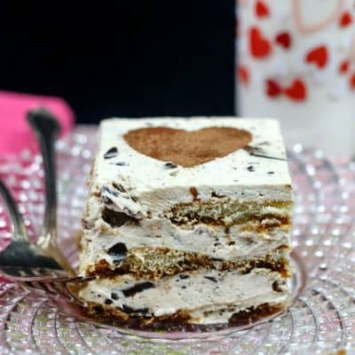 No Cook Easy Eggless Tiramisu with Griff's Coffee Toffee Bits