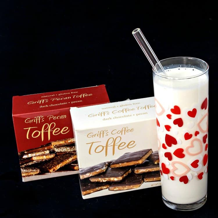 easy eggless tiramisu and #sponsored giveaway of Griff's Toffee! | pastrychefonline.com
