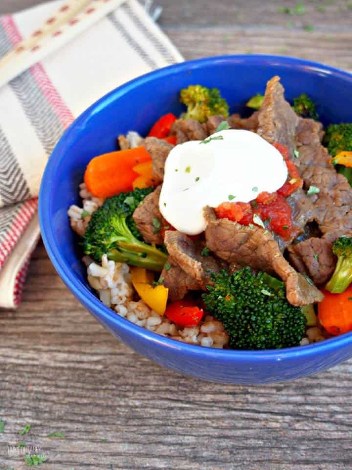 southwest steak stir-fry