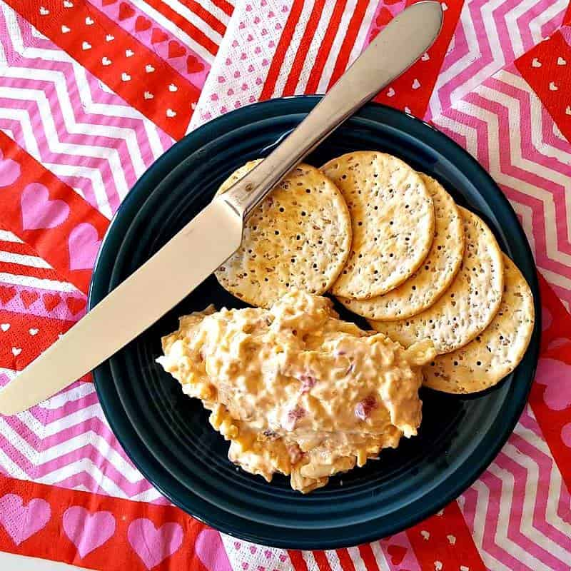 spicy smoked pimento cheese