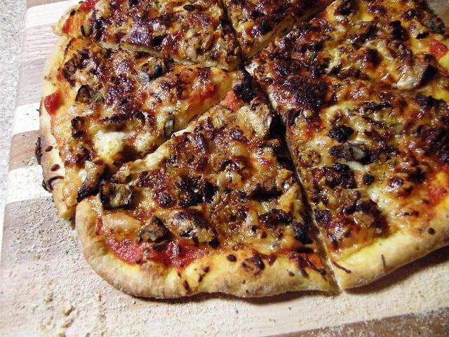 Friday night pizza night