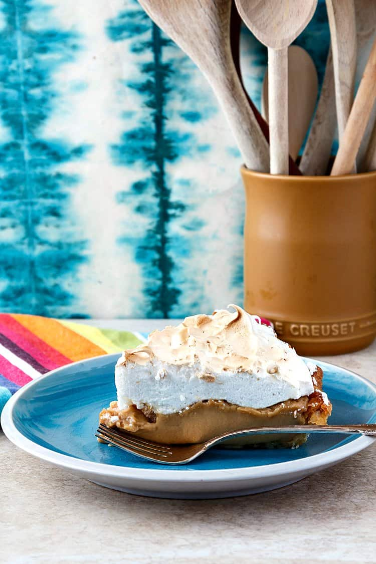 There's nothing more delicious than a really creamy piece of butterscotch pie. If you don't believe me, give this recipe a try. It'll make a believer out of you! | pastrychefonline.com