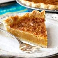 Old-Fashioned Vinegar Pie