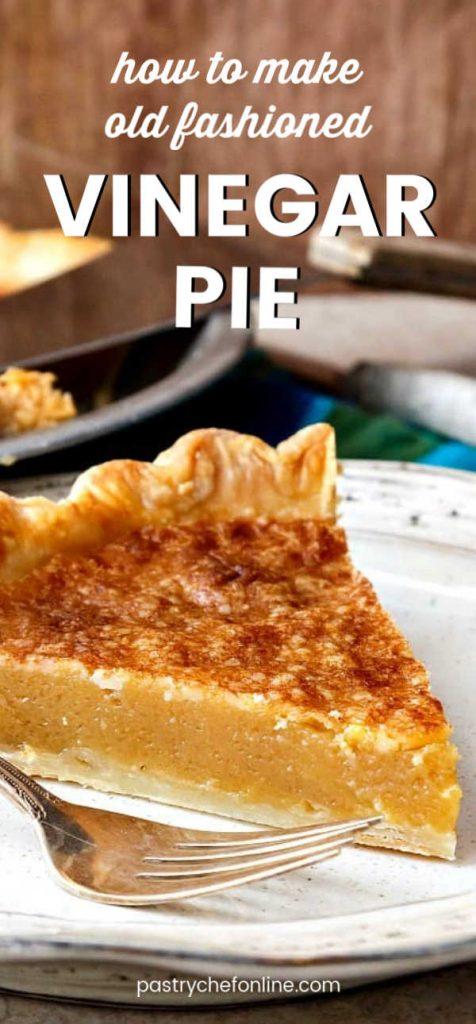 pin for vinegar pie