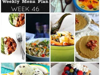 Dinner Divas Weekly Meal Plan, Week 46 | 5 Mains, 2 Extras