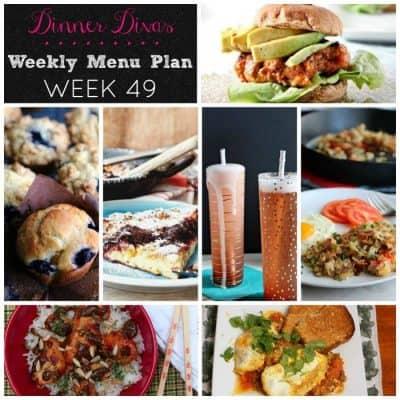 Dinner Divas Weekly Meal Plan, Week 49 | 5 Mains, 2 Extras