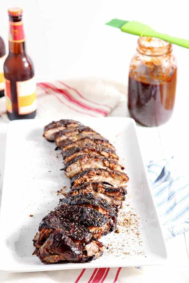 memphis-style barbecue ribs