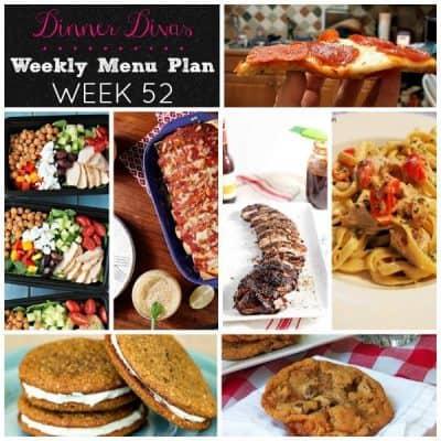 Dinner Divas Weekly Meal Plan, 1 Year Anniversary Edition!