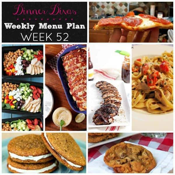 Welcome to our first anniversary edition of our weekly meal plan posts. The Dinner Divas have pulled out all the stops and are sharing their most popular recipes. Get those pens out and make your shopping lists, friends!   pastrychefonline.com