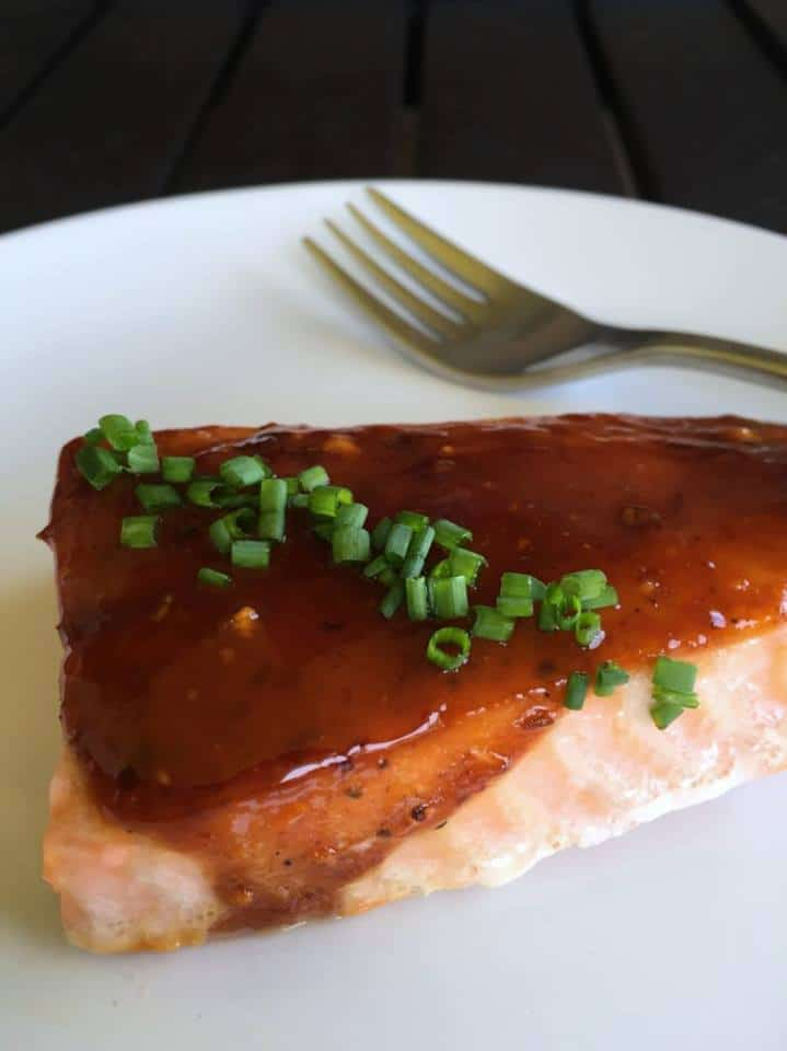 sheet pan honey chipotle salmon